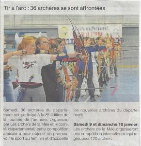 Journée de l'archère 2015 - Ouest France