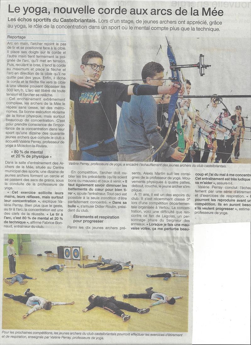 Stage Février 2016 Article Ouest France